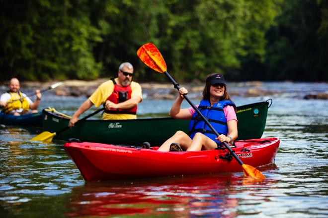 Roanoke River Kayaking