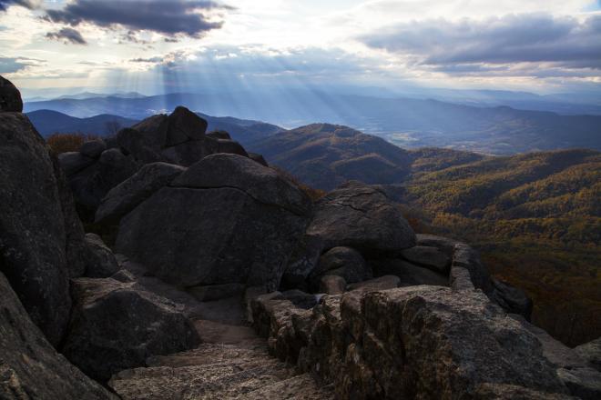 Sharp Top Mountain - Peaks of Otter | Bedford, Virginia