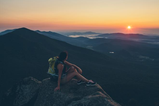 Sharp Top Mountain Virginia Hiking