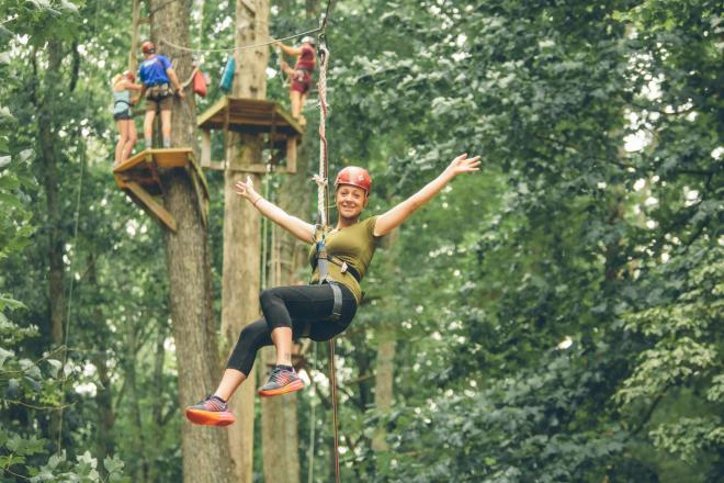 Treetop Quest Zipline - Explore Park, Roanoke, VA
