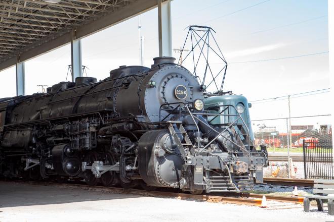 1218 Locomotive - Virginia Museum of Transportation