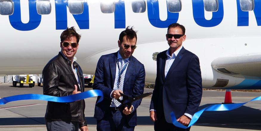 Contour Airlines Begins Flights between Las Vegas and San Luis Obispo County