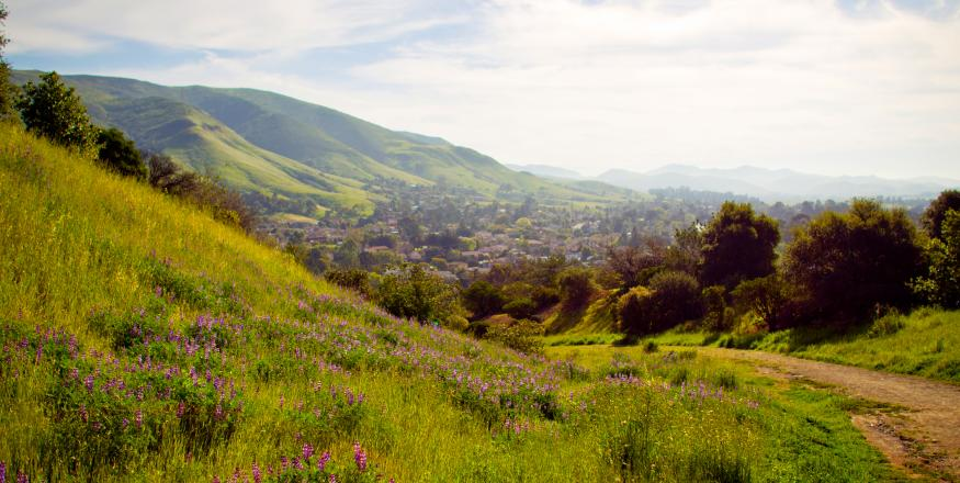 San Luis Obispo hiking trail