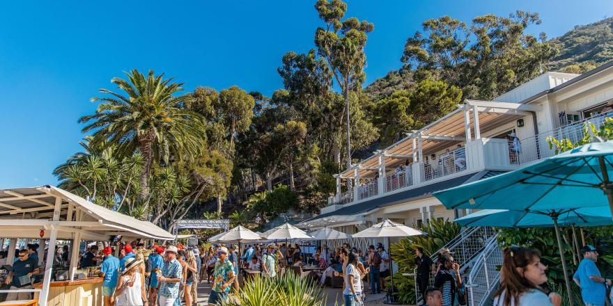 Catalina Wine Mixer Descanso Beach Club