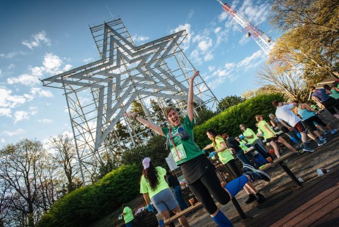 Blue Ridge Marathon Runner - Roanoke Star