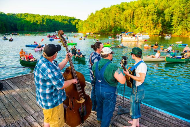 Concerts by Canoe - Philpott Lake, Franklin County