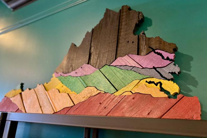 State of Virginia Art - Crafteria