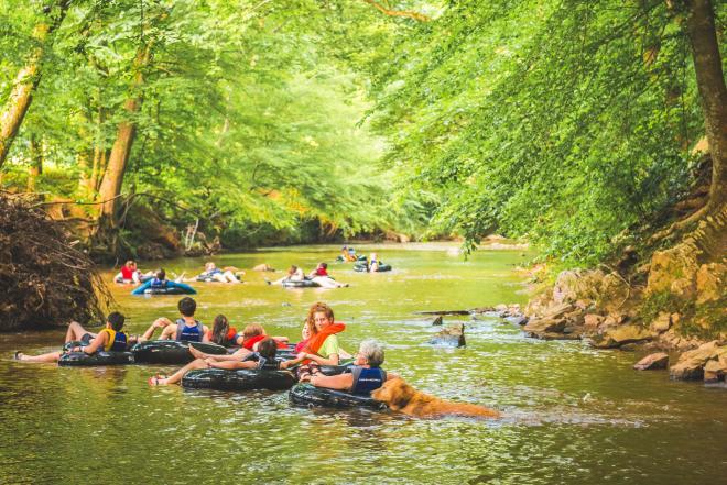 Pigg River Tubing - Franklin County