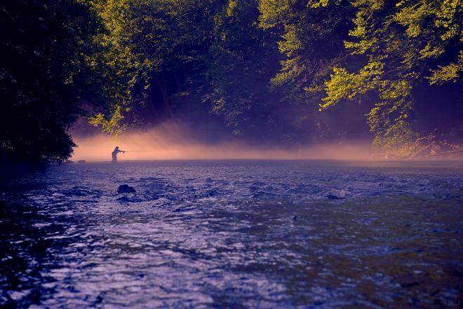 Fishing - Smith River - Franklin County, Virginia