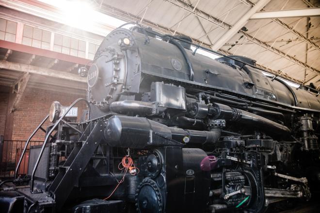 1218 Locomotive at Virginia Museum of Transportation in Roanoke