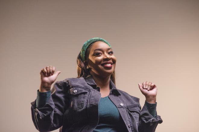 Eboni Harrington - We Are Art Roanoke Rap Cypher