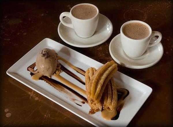 Hugo's Hot Chocolate and Churros