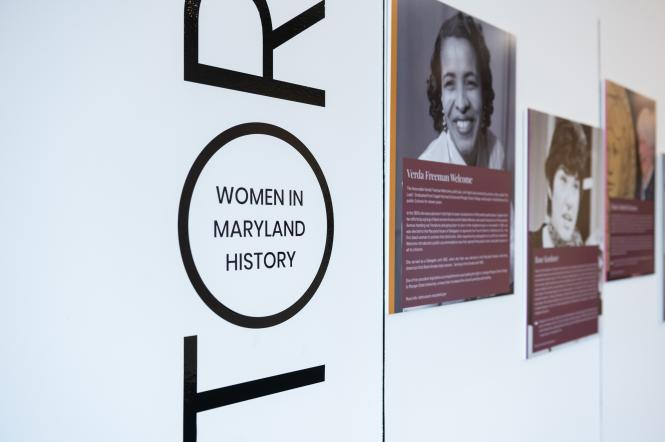 Women in maryland History at the Kaleidoscope exhibit