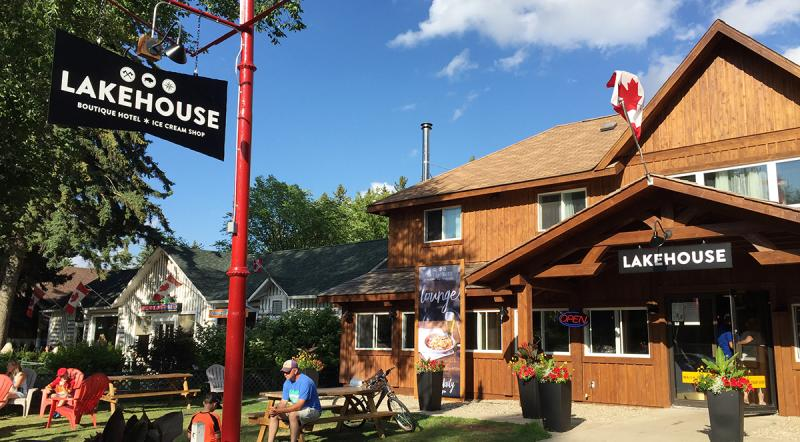 The Lake House in Wasagaming, Riding Mountain National Park