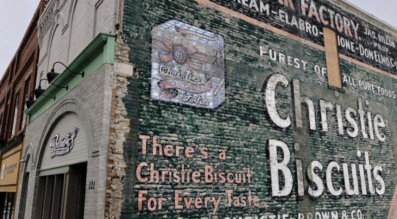 Brandon Ghost Sign