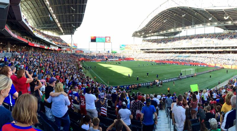 FIFA Women's World Cup, Canada 2015, Winnipeg, Manitoba.