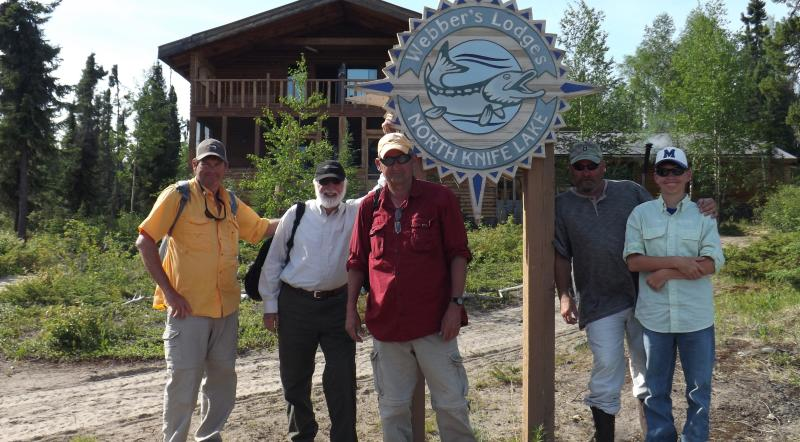 Fishing at Webber's Lodges in Manitoba