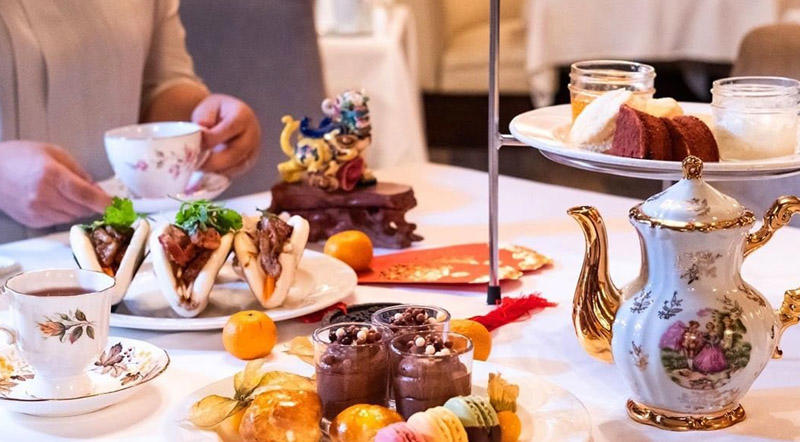 High Tea at Fairmont Hotel
