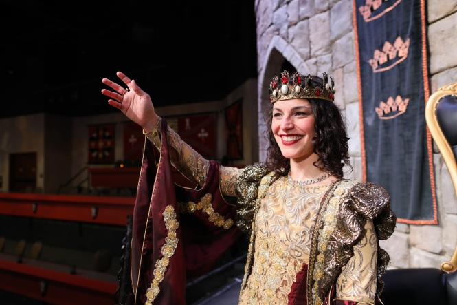 Queen Isabella at Medieval Times