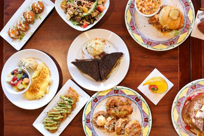 Miss Shirley's offers a variety of brunch and breakfast specialties.