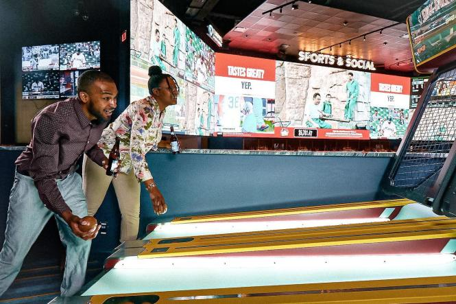 Skee Ball at Sports & Social Maryland