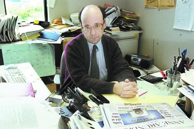 Gerald Fischman, editorial page editor, Capital Gazette