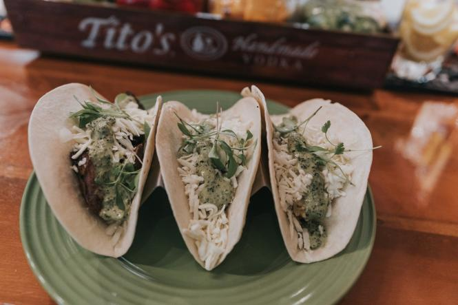 soft tacos from Jesse Jay's