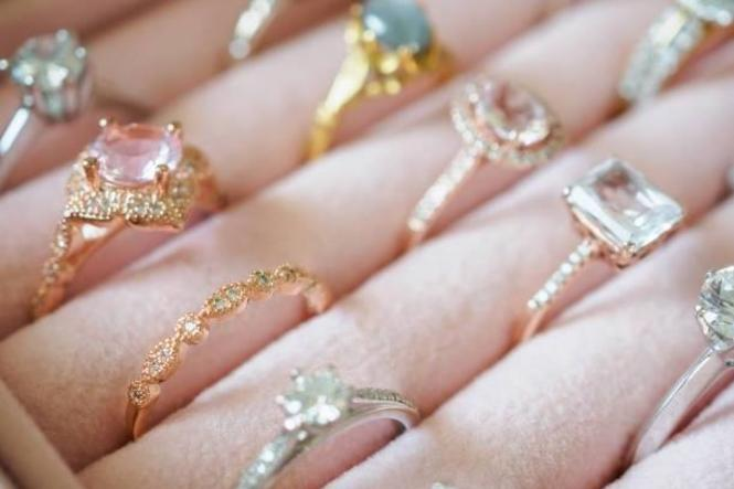 Tilghman Company offers a selection of dainty and bold engagement rings.