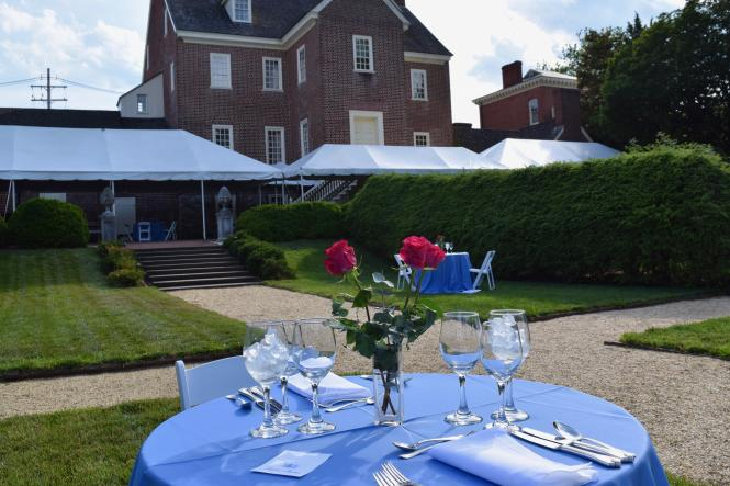 Wine and Dine in the Paca Garden