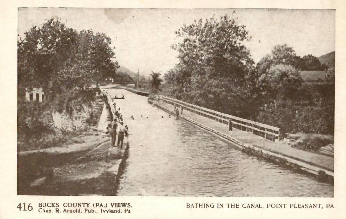 Bucks County postcards