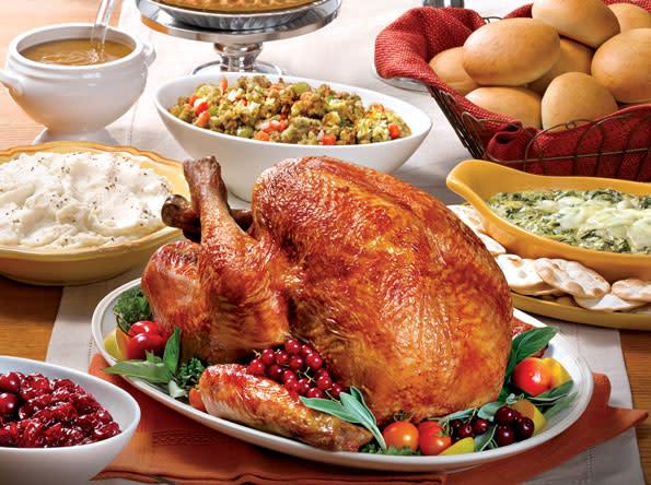 Disalvo's Turkey Dinner