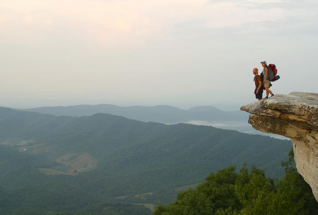 e164f104db6 Appalachian Trail Thru-Hikers Welcomed in the Blue Ridge Mountains
