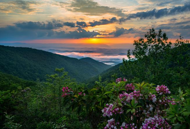 Where To See The Best Sunsets In Virginia S Blue Ridge