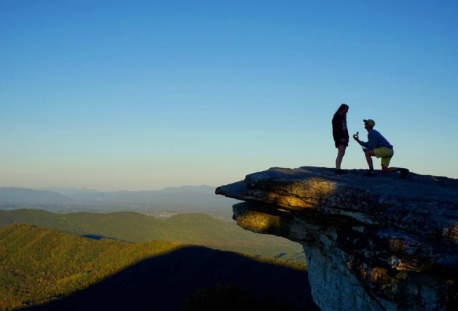 Top 10 Spots To Propose In Virginia S Blue Ridge Roanoke Va