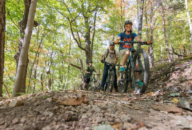 Easy Mountain Biking Trails In Roanoke Virginia S Blue Ridge