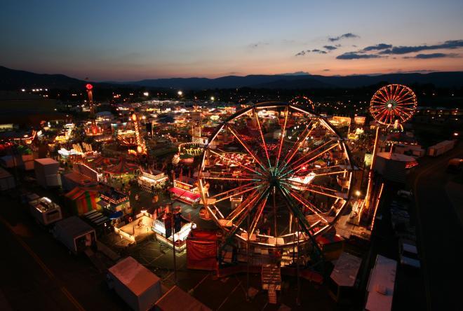 Salem Fair Midway