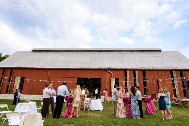 The Red Barn is a popular wedding venue.