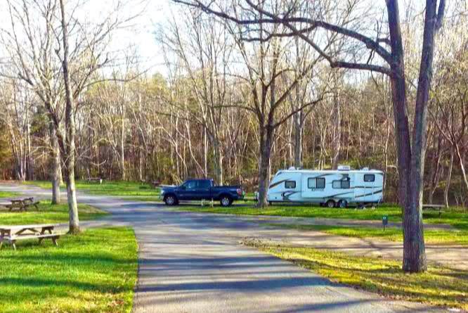 Carowinds RV Campground Wilderness
