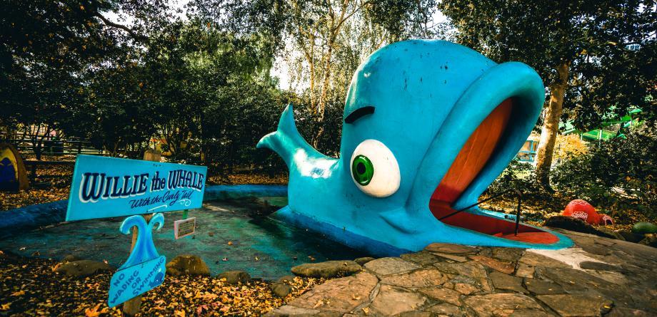 Children's Fairyland whale