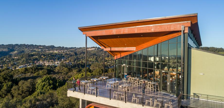 Landing Cafe Oakland Zoo Meeting Space