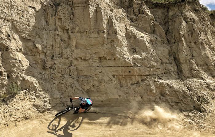 Mountain Biking at the Kamloops Bike Ranch