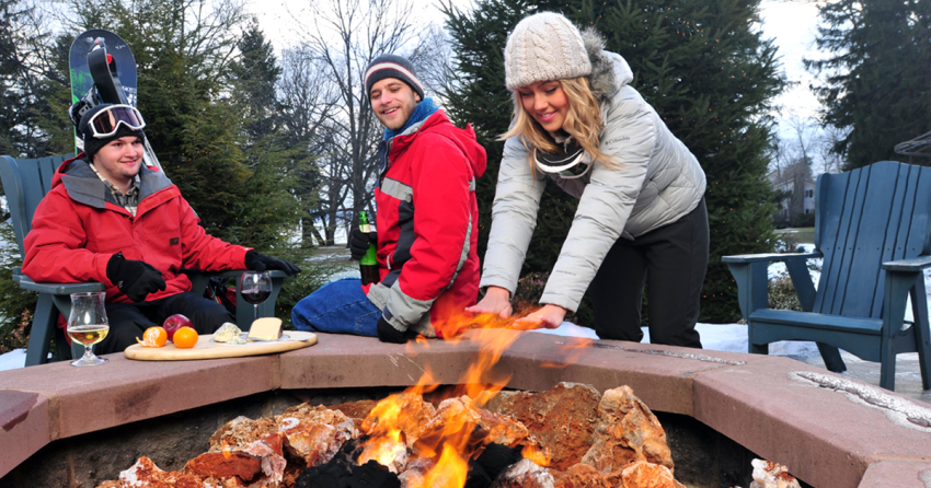 Winter Fire Social