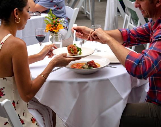 Dining Al Fresco on Larimer Square