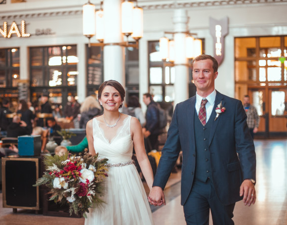 Denver Union Station wedding