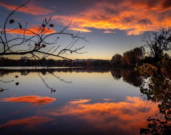 Huston Lake Park in Denver, Colorado