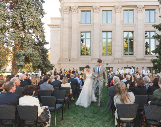 McNichols Civic Center Building wedding
