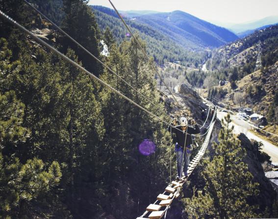 Mount Evan via ferrata in Colorado