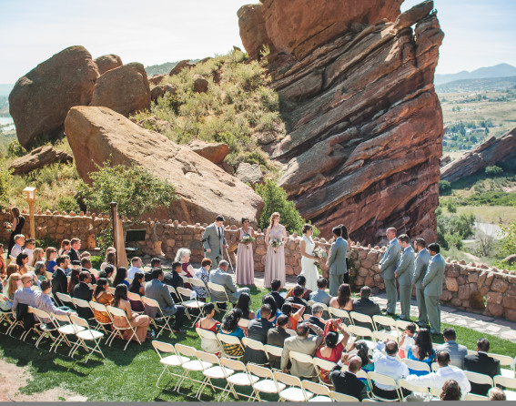 Red Rocks Amphitheatre wedding venue