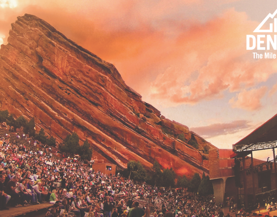 Zoom background - Red Rocks Amphitheatre