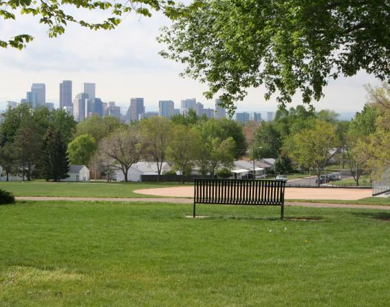 Zuni Park in Denver, Colorado